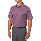 Walter Hagen Men's Essentials Printed Golf Polo