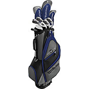 Wilson Senior Profile XD 14-Piece Complete Set – Grey/Blue