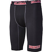 Fandemics Men's Oklahoma Sooners BaseFit Black Compression Shorts