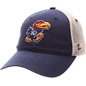 Zephyr Men's Kansas Jayhawks Blue/White University Adjustable Hat