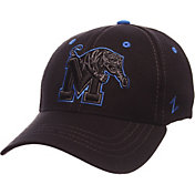 Zephyr Men's Memphis Tigers Black Element ZClassic Flexfit Hat