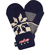 adidas Men's 2018 Stadium Series Washington Capitals Mittens