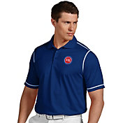 Antigua Men's Detroit Pistons Icon Royal Performance Polo