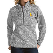 Antigua Women's Loyola Chicago Ramblers Grey Fortune Pullover Jacket