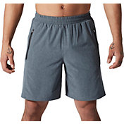 SECOND SKIN Men's Training Heather Woven 9'' Shorts