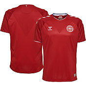 Hummel Youth 2018 FIFA World Cup Denmark Stadium Home Replica Jersey