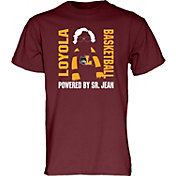 Blue 84 Men's Loyola Chicago Ramblers Maroon Sister Jean Basketball T-Shirt