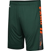 Colosseum Men's Florida A&M Rattlers Green Perfect Season Shorts