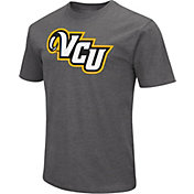 Colosseum Men's VCU Rams Grey Dual Blend T-Shirt