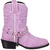 Durango Kids' Lavender Bling Harness Western Boots
