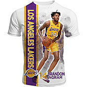 Levelwear Men's Los Angeles Lakers Brandon Ingram Breakaway White T-Shirt