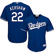 Boys' Replica Los Angeles Dodgers Clayton Kershaw #22 Alternate Royal Jersey