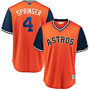 Majestic Men's Houston Astros George Springer 'Springer' MLB Players Weekend Jersey