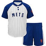 Majestic Toddler New York Mets Good Hit Shorts & Top Set