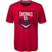 Majestic Boys' St. Louis Cardinals Dri-Tek Run Scored T-Shirt