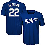 Majestic Youth Los Angeles Dodgers Clayton Kershaw #22 Performance T-Shirt