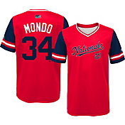 Majestic Youth Washington Nationals Bryce Harper 'Mondo' MLB Players Weekend Jersey Top