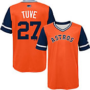 Majestic Youth Houston Astros Jose Altuve 'Tuve' MLB Players Weekend Jersey Top
