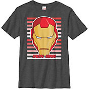 Fifth Sun Boys' Marvel 'Ironman' Big Face Graphic T-Shirt