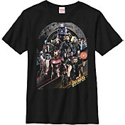 Fifth Sun Boys' Marvel Avengers Infinity Wars Poster Graphic Tee
