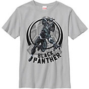 Fifth Sun Boys' Marvel 'Black Panther' Panther Paw Graphic T-Shirt