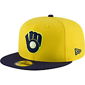 New Era Men's Milwaukee Brewers 59Fifty MLB Players Weekend Authentic Hat