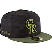 New Era Men's Colorado Rockies 59Fifty 2018 Memorial Day Fitted Hat