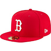 New Era Men's Boston Red Sox 59Fifty Basic Red Fitted Hat