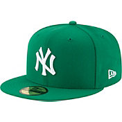 New Era Men's New York Yankees 59Fifty Basic Green Fitted Hat