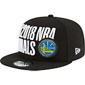 New Era Men's 2018 NBA Finals Golden State Warriors 9Fifty Locker Room Adjustable Snapback Hat