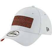 New Era Men's Cleveland Browns Sideline Training Camp 39Thirty Grey Stretch Fit Hat
