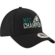 New Era Men's NFC Conference Champions Philadelphia Eagles Black 9Forty Adjustable Hat