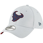 New Era Men's Houston Texans Sideline Training Camp 39Thirty Grey Stretch Fit Hat