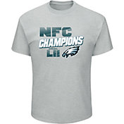 NFL Men's NFC Conference Champions Philadelphia Eagles Wonderstruck Grey T-Shirt