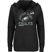NFL Women's Super Bowl LII Bound Philadelphia Eagles Go To Championship Black Hoodie