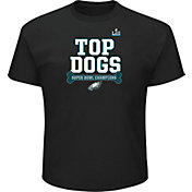 NFL Youth Super Bowl LII Champions Philadelphia Eagles Top Dogs Black T-Shirt