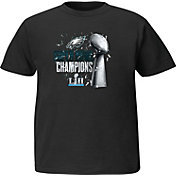 NFL Youth Super Bowl LII Champions Philadelphia Eagles Parade Black T-Shirt