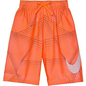 Nike Boys' Flywire Line Swoosh Breaker Swim Trunks