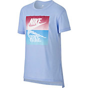Nike Girls' Sportswear Sunset Futura Graphic Tee