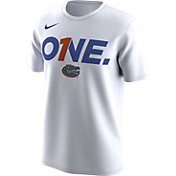 Nike Men's Florida Gators 'One' Bench Legend White T-Shirt