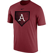 Nike Men's Arkansas Razorbacks Cardinal Baseball Diamond T-Shirt