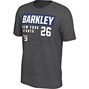 Nike Men's New York Giants Saquon Barkley #26 Marled Grey T-Shirt