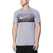 Nike Men's Beam Short Sleeve Hydro Rash Guard