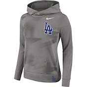 Nike Women's Los Angeles Dodgers Dri-FIT Therma Pullover Hoodie