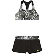 Nike Girls' Amp Axis Racerback Sport Top Short Set