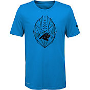 Nike Youth Carolina Panthers Icon Performance Blue T-Shirt