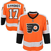 NHL Youth Philadelphia Flyers Wayne Simmonds #17 Replica Home Jersey