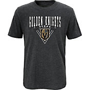 NHL Youth Vegas Golden Knights Banner Season Heather Grey T-Shirt
