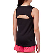 Reebok Girls' Performance Open Back Tank Top