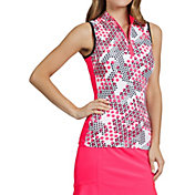 Tail Women's Sleeveless ¼ Zip Golf Mock Neck